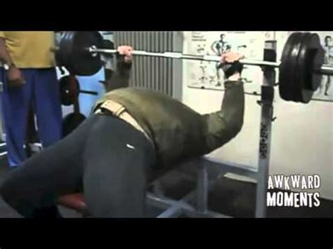 belly bench press belly bench press awkward gym moments youtube