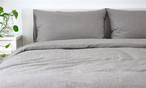 Mens Duvet Covers S Bedding Medium Grey Linen Duvet Cover