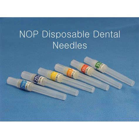 Disposable Dental Needle nop disposable dental needles