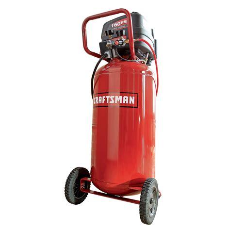 craftsman  gal vertical compressor tools air compressors air tools air compressors