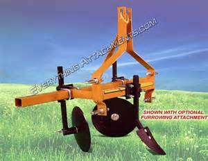 3 point hitch bedder hiller attachment for tractor 2016
