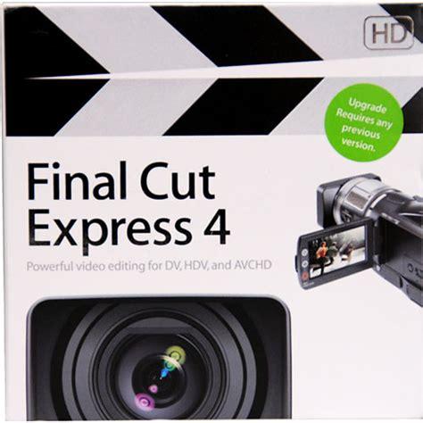 Final Cut Pro Upgrade Cost | apple upgrade final cut express hd to final cut express