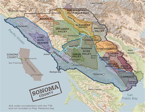 sonoma valley map wine growing regions sonomawine