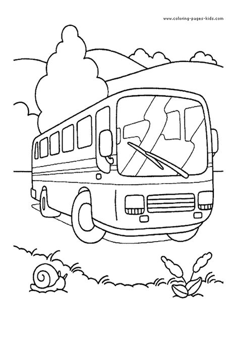 bus coloring pages for toddlers simple of bus coloring pages