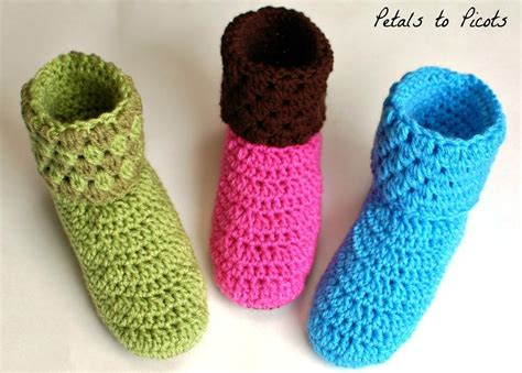 how to crochet slippers how to crochet slippers for beginners crochet and knit