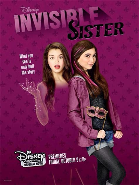 film disney channel 2015 ma soeur est invisible critique disney channel