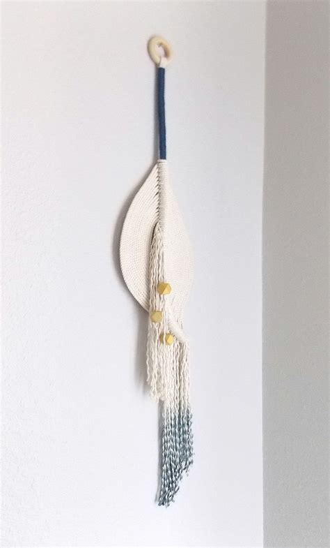 Modern Macrame - himo for outfitters modern macrame wall hanging