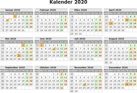 kalender  calendars