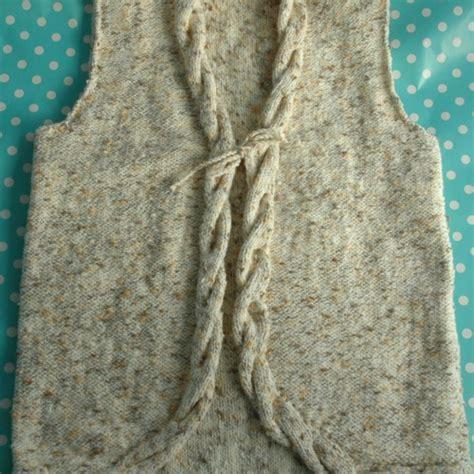 knitting pattern waistcoat dk knitting pattern cable waistcoat knitsrus
