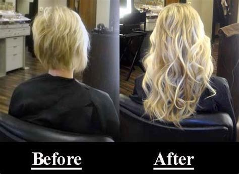 hair weave how its done before and after photos illusions color spa st louis