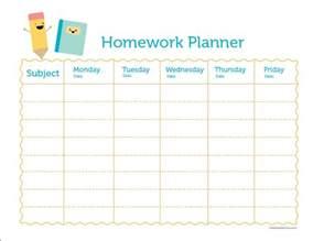 Homework Planner Template Planner Homework Order Paper Cheap