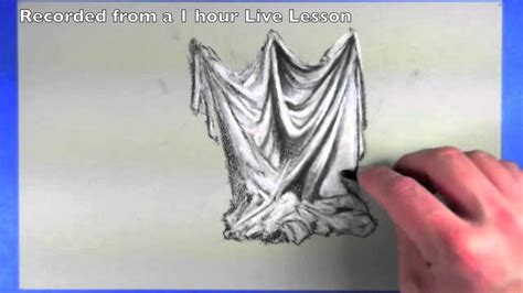 how to draw drapery drawing drapery how to draw cloth youtube