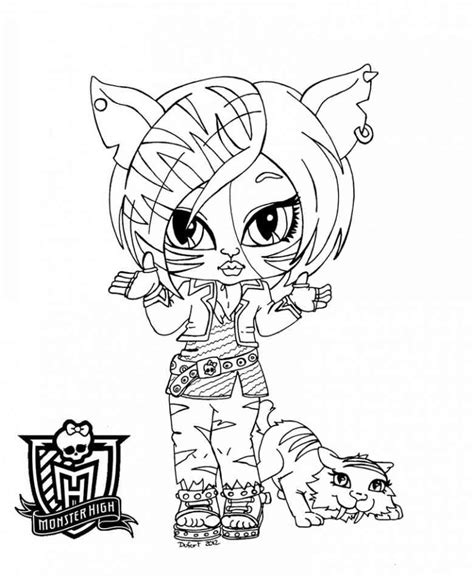 monster high baby coloring pages to print baby monster high coloring pages az coloring pages