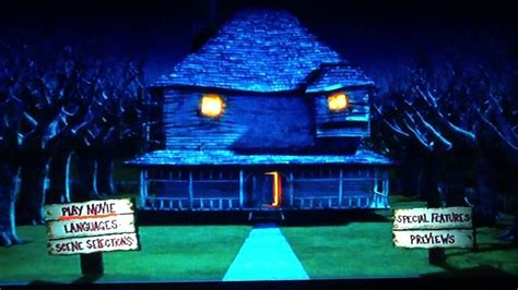 monster hous monster house menu dvd youtube
