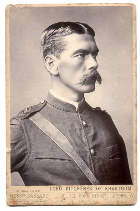 Horatio Kitchener by Sodliers Of The Herbert Horatio Kitchener In Field