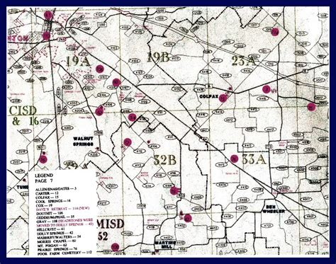 zandt county texas map page 7