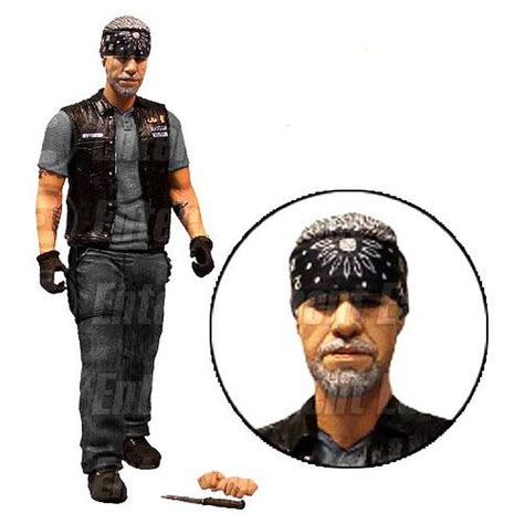 6 inch figure accessories sons of anarchy clay morron with accessories ee exclusive