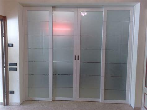 porta scorrevole a vetro porta scorrevole a 4 ante in vetro e alluminio