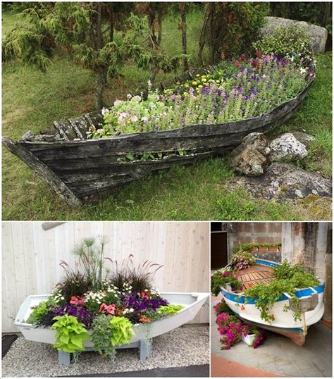 Garden Decoration Boat by 10 Ingenious Ideas To Repurpose Boats Living Room