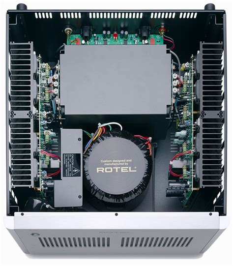 Rotel Rb 1552 Mkii Integrated Lifier rotel rb 1590 power lifier review avrev