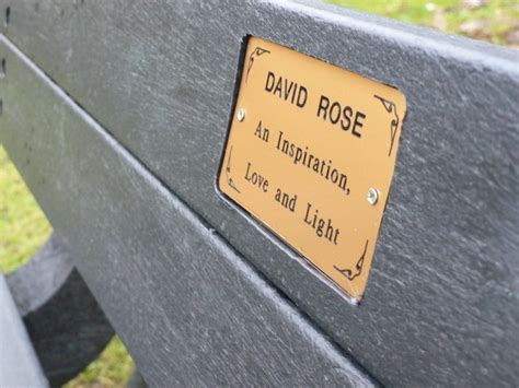 outdoor memorial plaques for benches memorial plaque brass
