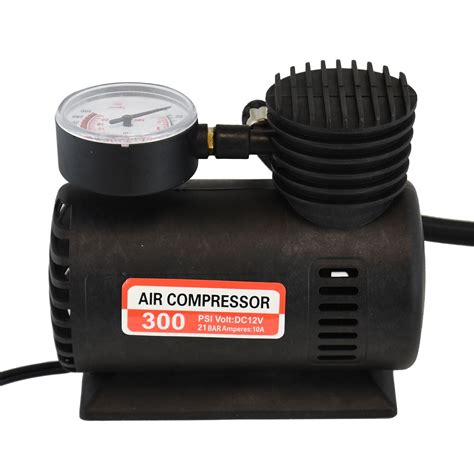 12v portable mini air compressor 300 psi car bike tyre inflator cigarette ebay