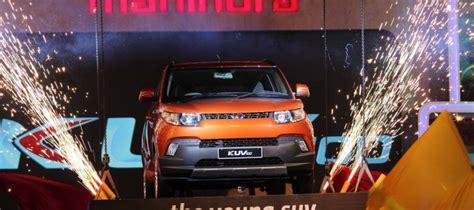 mahindra showroom pune automobilians mahindra kuv100 launched in india at
