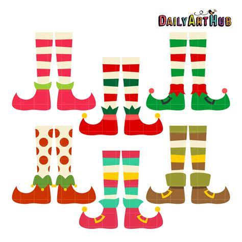 printable elf legs elf legs clip art set daily art hub free clip art everyday