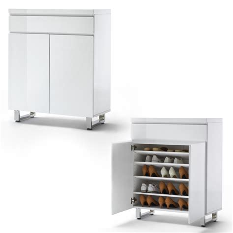 high gloss white cabinets sydney shoe cabinet in high gloss white with 2 door and