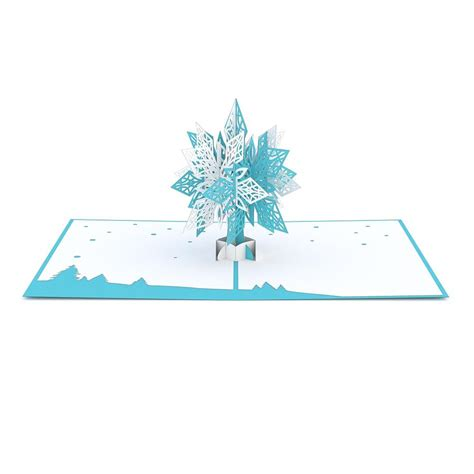 snowflake pop up card template snowflake 2 0 pop up card lovepop