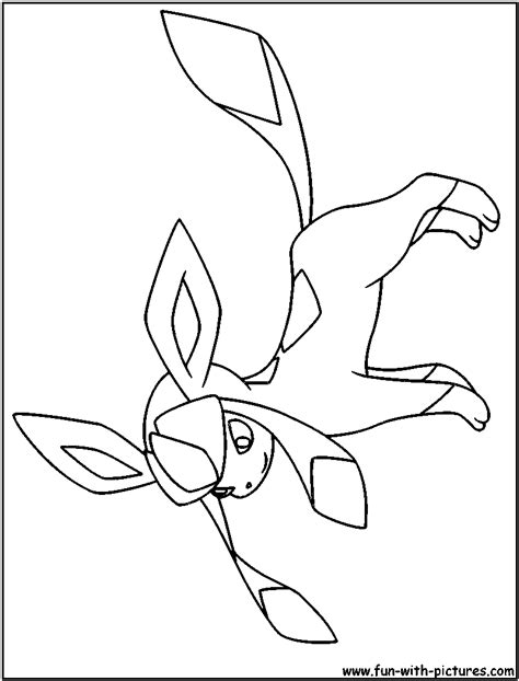 pokemon coloring pages glaceon free coloring pages of ice eevee