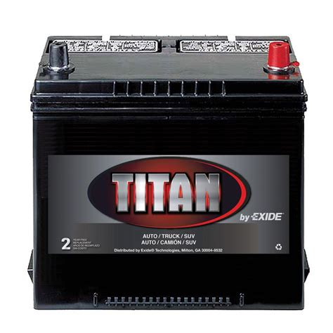 exide titan titan battery 26rt the home depot