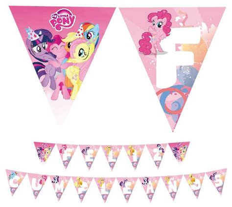 printable birthday banner my little pony 10 best my little pony party images on pinterest my