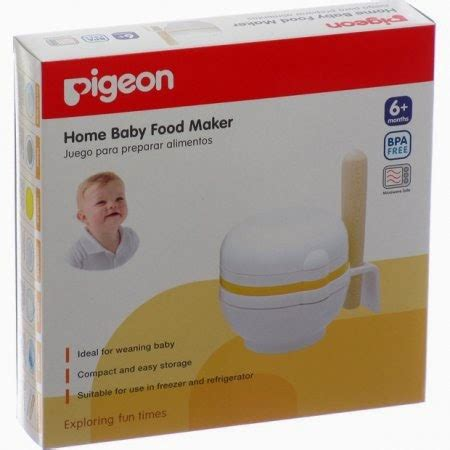 Pigeon Food Maker By Ghani fairuz babyshop juni 2012