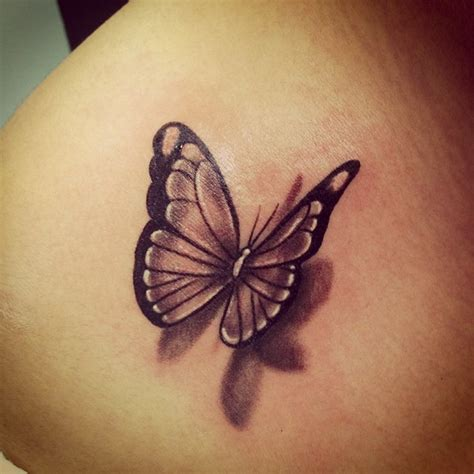 black and white butterfly tattoo 50 amazing 3d butterfly tattoos