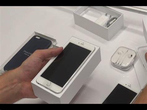 unboxing iphone 6 e iphone 6 plus espa 241 ol