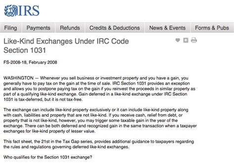 section 1031 irs section 1031 like kind exchange 28 images are you