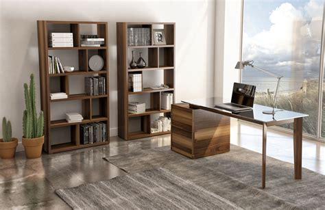 Walnut Home Office Furniture Swan Office Furniture By Hupp 233 Walnut Furniture From Leading European Manufacturers