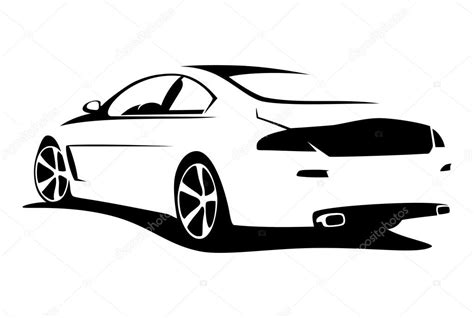 Auto Logo Tuning by Tuning Car Silhouette Stock Vector 169 Kerpet 75267437