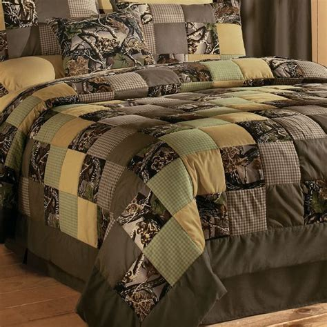 Camo Patchwork Quilt Set - camo patchwork quilt set for the cerdecor ideas