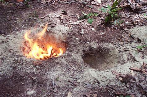 how to make a dakota fire hole survival