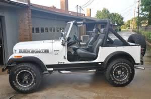 Jeep Alexandria La Sell Used 1986 Jeep Cj7 Renegade Sport Utility 2 Door 4 2l