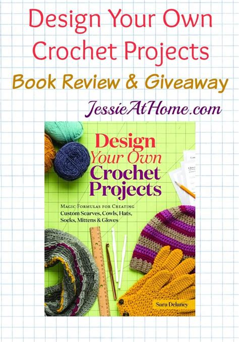 design your own home book design your own crochet projects review and giveaway