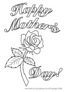 printable mothers day cards to color mothers day coloring pages for printable s