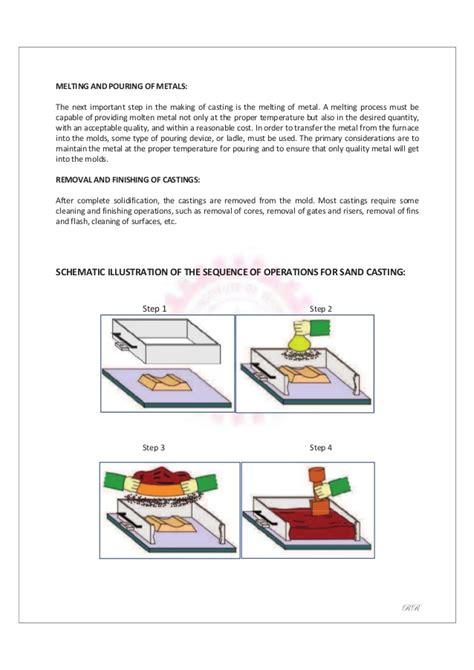 Pattern Making Workshop Practice | mechanical engineering workshop practice laboratory manual