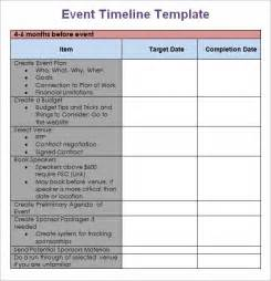 event templates event timeline 9 free documents in pdf doc