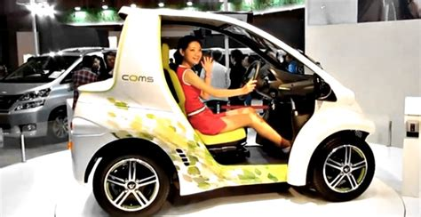 toyota coms toyota launches coms twizy rival autoevolution