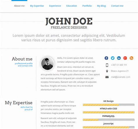7 quality wordpress resume themes wp solver