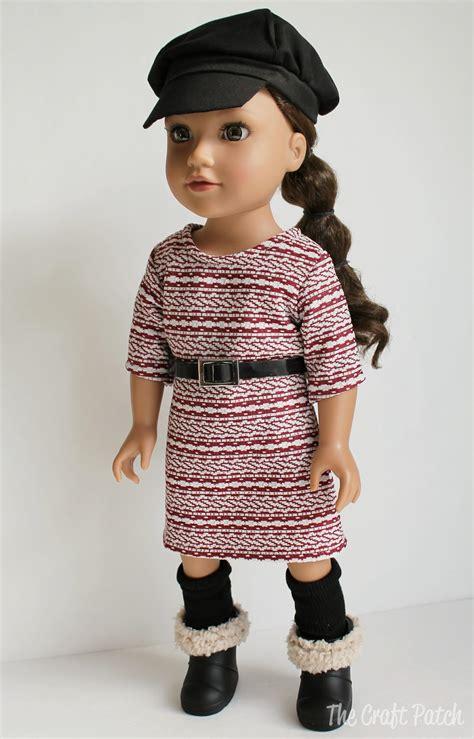 knit dress pattern the craft patch american doll basic knit dress