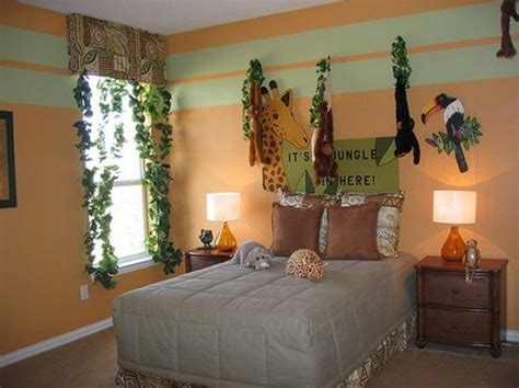 jungle themed bedrooms 20 jungle themed bedroom for kids rilane